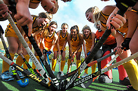 2020 Lower North Island Secondary Schools Hockey Girls Premiership tournament final between Wellington Girls' College and Wairarapa College at Fitzherbert Park Twin Turfs in Palmerston North, New Zealand on Friday, 4 September 2020. Photo: Dave Lintott / lintottphoto.co.nz