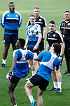 Leicester City FC's Wildfred Ndidi (l) and Bartosz Kapustka during training session. April 11, 2017.(ALTERPHOTOS/Acero)