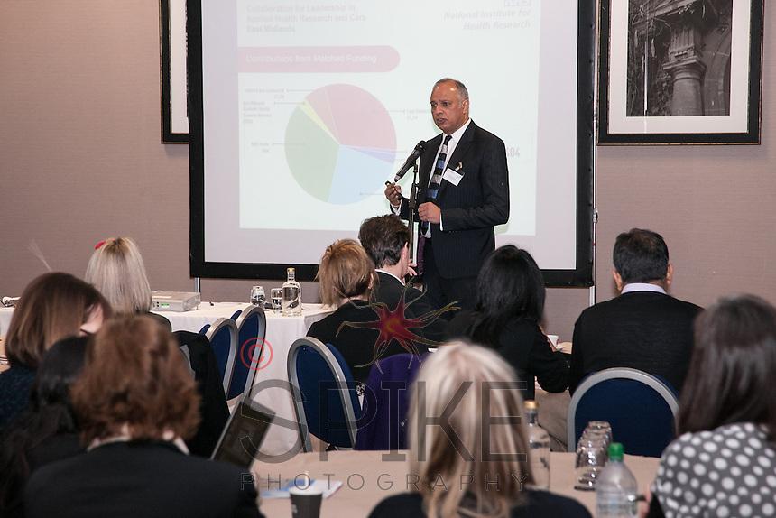 Professor Kamlesh Khunti, Director of NHR CLAHRC East Midlands
