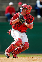 21 April 2007: University of Hartford Hawks' Ryan Crowley, a Senior from Plainville, CT, in action during a double-header against the University of Vermont Catamounts at Historic Centennial Field, in Burlington, Vermont...Mandatory Photo Credit: Ed Wolfstein Photo