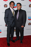 LOS ANGELES, CA, USA - MARCH 27: Oscar Nunez, Mike Gomez at the Cesar Chavez Foundation's 2014 Legacy Awards Dinner held at the Millennium Biltmore Hotel on March 27, 2014 in Los Angeles, California, United States. (Photo by Xavier Collin/Celebrity Monitor)