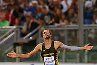 Gianmarco Tamberi ITA High Jump Men  <br /> Roma 02-06-2016 Stadio Olimpico.<br /> IAAF Diamond League 2016<br /> Atletica Legera <br /> Golden Gala Meeting - Track and Field Athletics Meeting<br /> Foto Cesare Purini / Insidefoto