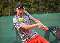 Hilversum, Netherlands, August 9, 2017, National Junior Championships, NJK, Lodewijk Weststrate<br /> Photo: Tennisimages/Henk Koster