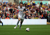 Saturday 28 September 2013<br /> Pictured: Michu of Swansea<br /> Re: Barclay's Premier League, Swansea City FC v Arsenal at the Liberty Stadium, south Wales.