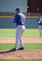 Cory Abbott - Chicago Cubs 2018 spring training (Bill Mitchell)
