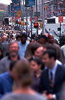 People walking on sidewalk<br />