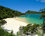 New Zealand, South Island, Abel Tasman National Park: Stilwell Bay Beach | Neuseeland, Suedinsel, Abel Tasman National Park: Stilwell Bay Beach