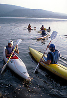 The Kayak Club practices in the river. kayakers. Harrisburg Pennsylvania United States Susquehanna River.
