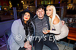 Nicole Heaphy, Jack Duggan and Andrea O'Callaghan enjoying the evening in The Fiddler on Friday.