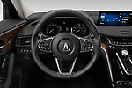 Car pictures of steering wheel view of a 2021 Acura TLX Advance-Package 4 Door Sedan Steering Wheel