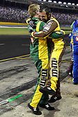 Monster Energy NASCAR Cup Series<br /> Monster Energy NASCAR All-Star Race<br /> Charlotte Motor Speedway, Concord, NC USA<br /> Saturday 20 May 2017<br /> Kyle Busch, Joe Gibbs Racing, M&M's Caramel Toyota Camry wins and the crew celebrates.<br /> World Copyright: Rusty Jarrett<br /> LAT Images<br /> ref: Digital Image 17CLT1rj_4730