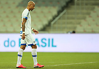 9th June 2021; Arena da Baixada, Curitiba, Brazil; Copa do Brazil, Athletico Paranaense versus Avai; Alan Costa of Avai disappointed after the match