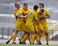 081214 NZ Football Championship - Wellington v Otago