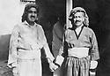 Iraq 1955?.Right , sheikh Marouf Barzinji with a friend.Irak 1955?.A droite sheikh Marouf Barzinji avec un ami