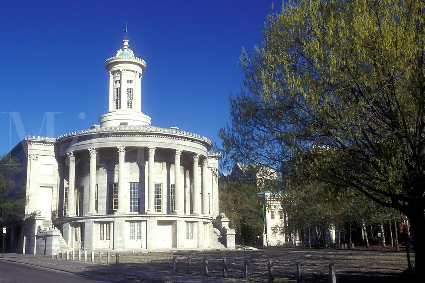 AJ1150, Philadelphia, Pennsylvania, Independence National Historic Park, The Philadelphia Exchange (Merchant) a Greek Revival masterpiece, it later housed the Philadelphia Stock Exchange.
