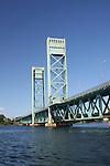 The Memorial Bridge, Portsmouth, NH, Piscatuqua River