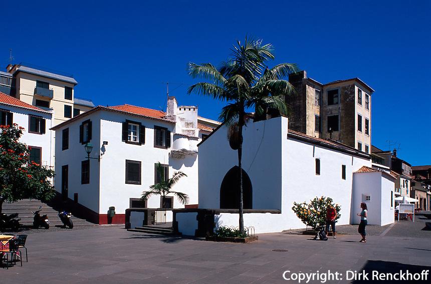 Portugal, Madeira, Capela do Corpo Santo in Funchal