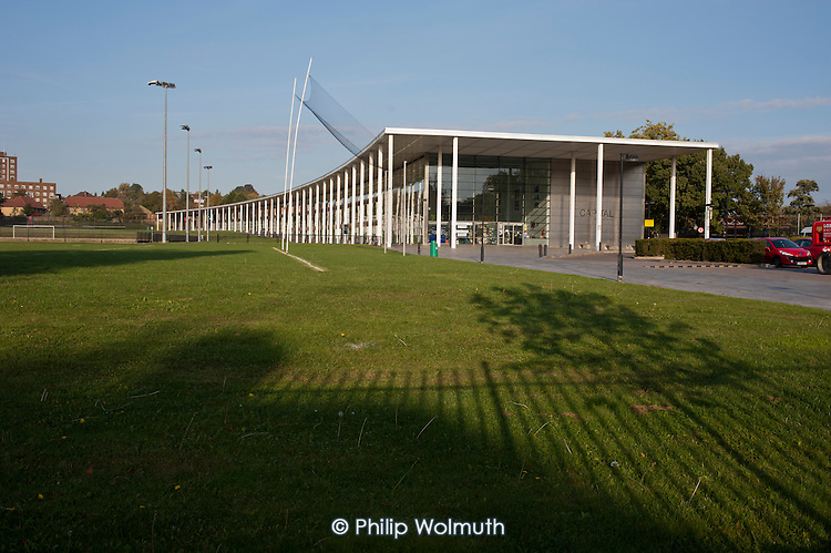 The Capital City Academy, Brent, the first City Academy in the UK, was designed by Sir Norman Foster and opened by Tony Blair in 2003.