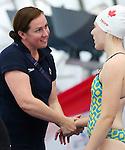Abi Tripp, Rio 2016 - Para Swimming // Paranatation.<br /> Team Canada trains at the Olympic Aquatics Stadium // Équipe Canada s'entraîne au Stade olympique de natation. 04/09/2016.