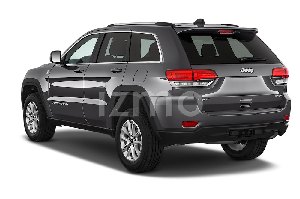 Car pictures of rear three quarter view of a 2014 JEEP Grand Cherokee Laredo 5 Door SUV Angular Rear