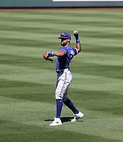 Leody Taveras - Texas Rangers 2021 spring training (Bill Mitchell)