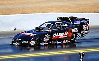 Jul. 17, 2010; Sonoma, CA, USA; NHRA funny car driver Brian Thiel during qualifying for the Fram Autolite Nationals at Infineon Raceway. Mandatory Credit: Mark J. Rebilas-