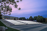 Genoa Park Amphitheater Stairs Lighting Design | Illumination Arts & Lumenpulse
