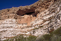 Montezuma Castle National Monument contains the ruins of a five-story cliff dwelling built in the 12th and 13th centuries. It contains 20 rooms, accessible only by ladders, and is believed to have to been inhabited by Sinagua Indians. Camp Verde Arizona U