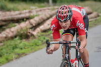 Enzo Wouters (BEL/Lotto-Soudal)<br /> <br /> Ster ZLM Tour (2.1)<br /> Stage 4: Hotel Verviers > La Gileppe (Jalhay)(190km)