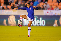 HOUSTON, TX - JANUARY 31: Lynn Williams #13 of the United States warming up during a game between Panama and USWNT at BBVA Stadium on January 31, 2020 in Houston, Texas.