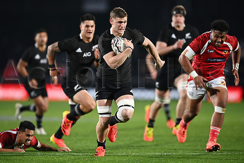3rd July 2021, Auckland, New Zealand;  Dalton Papalii.<br /> New Zealand All Blacks versus Tonga, Steinlager Series, international rugby union test match. Mt Smart Stadium, Auckland. New Zealand.