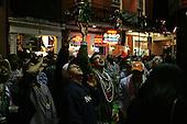 New Orleans, Louisiana.February 24, 2006..Bourbon Street New Orleans.