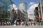 United Kingdom, England, West Midlands, Birmingham: The Bullring Shopping Centre | Grossbritannien, England, West Midlands, Birmingham: The Bullring Shopping Centre
