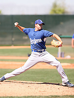 Allen Webster, Los Angeles Dodgers 2010 minor league spring training..Photo by:  Bill Mitchell/Four Seam Images.