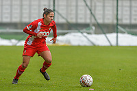 Lola Wajnblum (11) of Standard pictured during a female soccer game between Standard Femina de Liege and Eendracht Aalst on the 12 th matchday of the 2020 - 2021 season of Belgian Scooore Womens Super League , saturday 30 th of January 2021 in Angleur , Belgium . PHOTO SPORTPIX.BE   SPP   STIJN AUDOOREN