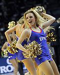 Euroleague's cheerleaders during Euroleague Final Match. May 15,2015. (ALTERPHOTOS/Acero)