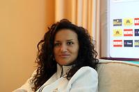 Fatmire Bajramaj<br /> Pressegespraech mit Melanie Behringer, Famire Bajramaj und Linda Bresonik *** Local Caption *** Foto ist honorarpflichtig! zzgl. gesetzl. MwSt. Auf Anfrage in hoeherer Qualitaet/Aufloesung. Belegexemplar an: Marc Schueler, Am Ziegelfalltor 4, 64625 Bensheim, Tel. +49 (0) 151 11 65 49 88, www.gameday-mediaservices.de. Email: marc.schueler@gameday-mediaservices.de, Bankverbindung: Volksbank Bergstrasse, Kto.: 151297, BLZ: 50960101