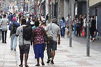 Campinas (SP), 05/03/2021 - FASE VERMELHA-SP - Movimento no centro de Campinas, interior de São Paulo, nesta sexta-feira (05). Mesmo na fase vermelha a movimentação na região é intensa.