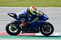 30th March 2021; Barcelona, Spain; Superbikes, WorldSSP600 , day 2 testing at Circuit Barcelona-Catalunya;   D. Aegerter riding Yamaha YFZ R6 from Ten Kate Racing Yamaha