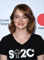 Emma Stone @ the Stand Up To Cancer 2016 held @ the Walt Disney Concert Hall. September 9, 2016