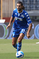 Sebastiano Luperto of Empoli FC in action during the Serie A football match between Empoli FC  and Venezia FC at Carlo Castellani stadium in Empoli (Italy), September 11th, 2021. Photo Paolo Nucci / Insidefoto