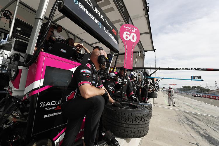 #60: Meyer Shank Racing w/Curb-Agajanian Acura DPi, DPi: crew members
