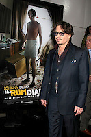 """, Bruce RobinsonLOS ANGELES - OCT 13:  Johnny Depp arriving at the World Premiere of """"The Rum Diary"""" at the LACMA on October 13, 2011 in Los Angeles, CA"""