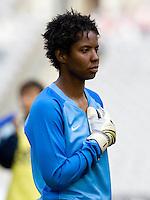 Briana Scurry. The U.S. defeated Finland, 4-1 during the Four Nations Tournament in  Guangzhou, China on January 18, 2008.