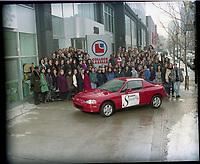 college Lasalle - finissants en mode 1994<br /> <br /> PHOTO : Agence Quebec Presse - stephane Fournier