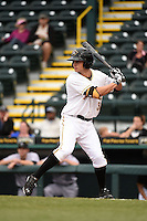 Bradenton Marauders shortstop Max Moroff (31) during a game against the Jupiter Hammerheads on April 17, 2014 at McKechnie Field in Bradenton, Florida.  Bradenton defeated Jupiter 2-1.  (Mike Janes/Four Seam Images)