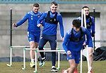 St Johnstone Training... 05.03.21<br />Jason Kerr pictured during training alongside Liam Gordon at McDiarmid Park this morning...<br />Picture by Graeme Hart.<br />Copyright Perthshire Picture Agency<br />Tel: 01738 623350  Mobile: 07990 594431