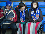 St Johnstone v St Mirren.....11.01.14   SPFL<br /> St Johnstone fans wrapped up against the cold <br /> Picture by Graeme Hart.<br /> Copyright Perthshire Picture Agency<br /> Tel: 01738 623350  Mobile: 07990 594431