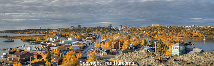 Warm September morning in Yellowknife