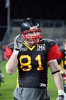 WR Jens Walter (D)<br /> Länderspiel Deutschland vs. Schweden<br /> *** Local Caption *** Foto ist honorarpflichtig! zzgl. gesetzl. MwSt. Auf Anfrage in hoeherer Qualitaet/Aufloesung. Belegexemplar an: Marc Schueler, Am Ziegelfalltor 4, 64625 Bensheim, Tel. +49 (0) 151 11 65 49 88, www.gameday-mediaservices.de. Email: marc.schueler@gameday-mediaservices.de, Bankverbindung: Volksbank Bergstrasse, Kto.: 151297, BLZ: 50960101
